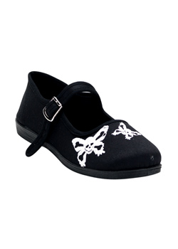 SASSIE-17 Butterfly Skull Shoes