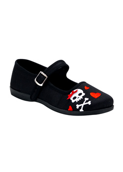 SASSIE-25 Heart Skull Shoes