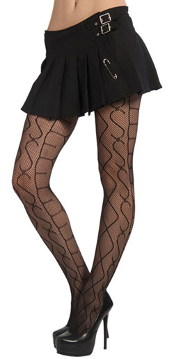 Sex Pattern Pantyhose