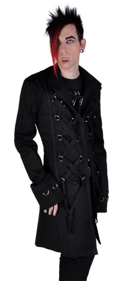 Short Tai D Ring Coat