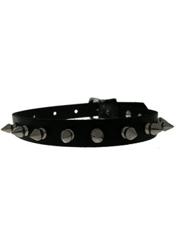 14C Leather Choker