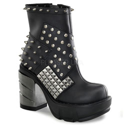 SINISTER-64 Chromed Patch Boots