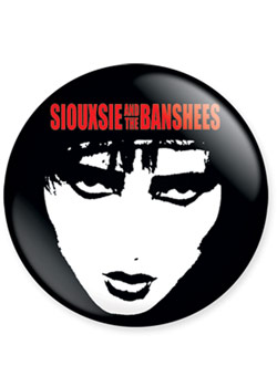 Siouxsie 1 Inch Button