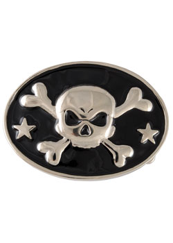 Skull and Bones Buckle