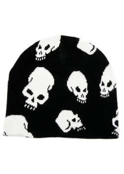 Skull Beanie Hat