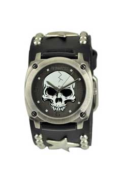Heavy Duty Skull with Star Watch