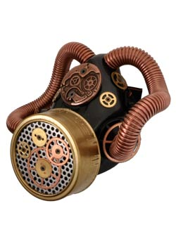 Steampunk Gears Respirator