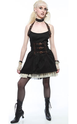 Steam Punk Harness Dress