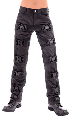 Oomph Strait Pants D.S. Black