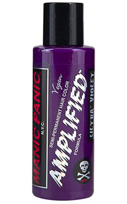 Ultra Violet Amplified Hair Dye