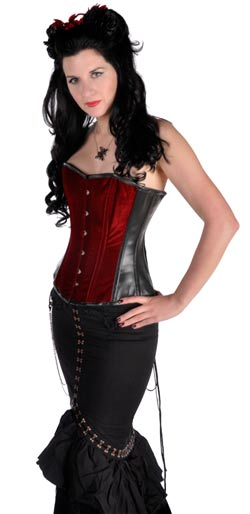 Victorian Velvet Corset