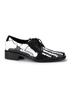 X-RAY-02 Black Skeleton Shoes