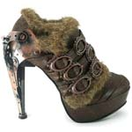 Atriedes Brown Steampunk Stilettos