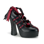 DEMON-13 Burgundy Demon Heels