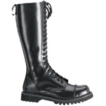 ROCKY-20 Black Leather Boots