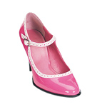 BETTY-01 Pink Patent Heel