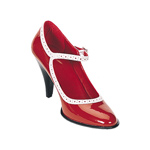 BETTY-01 Red Patent Heel