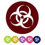 Biohazard Acrylic Discs