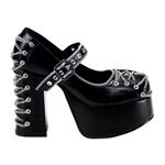 CHARADE-25 Chain Platform Shoes