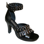 GLAM-43 Black Bullet Heels