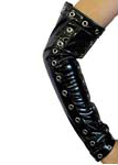 Jarta Black Gloss Cuffs