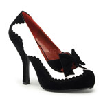 MAFIA-07 Black White Pumps