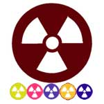 Radioactive Acrylic Lens