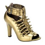 TESLA-05 Bronze Steampunk Boots