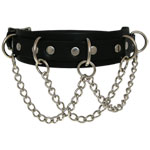 Leather Choker 3C