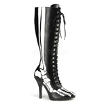 X-RAY-220 Black Skeleton Boots