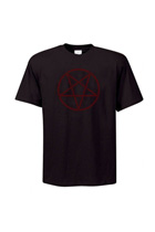 Dark Red Pentagram T-Shirt